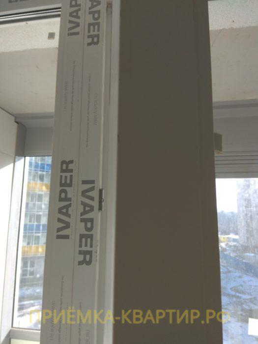 Приёмка квартиры в ЖК : поврежден оконный профиль