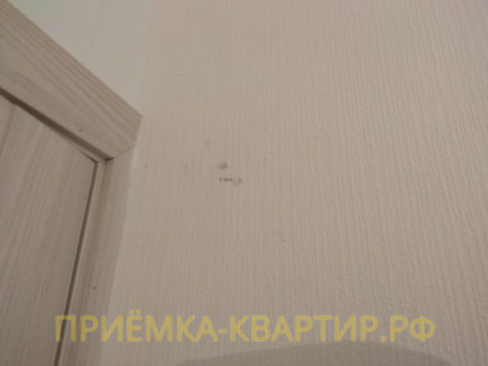 Приёмка квартиры в ЖК Новое Мурино: отклеенные обои