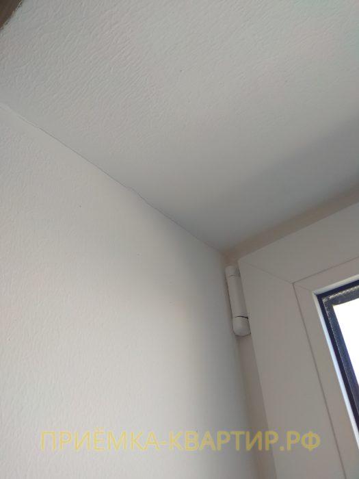 Приёмка квартиры в ЖК Колпино: трещины на откосах