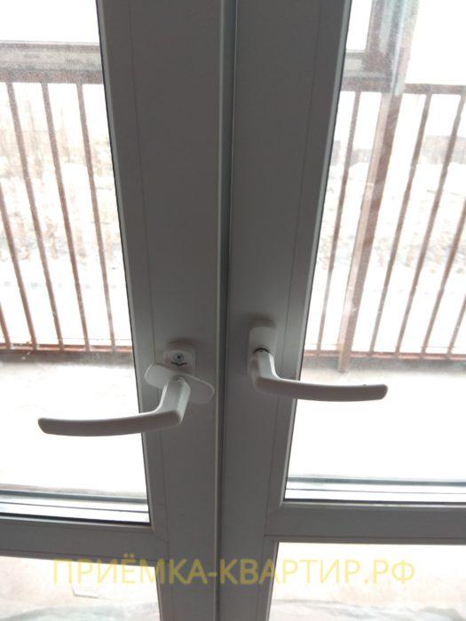 Приёмка квартиры в ЖК Медалист: повреждены дверные ручки