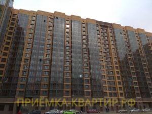 """Отчет о приемке 1 км. квартиры в ЖК """"Медалист"""""""