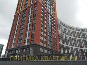 """Отчет о приемке студии в ЖК """"Ultra City"""""""