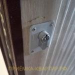 Приёмка квартиры в ЖК Краски Лета: поврежден дверной замок