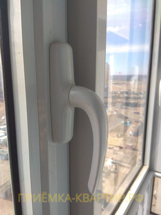 Приёмка квартиры в ЖК Капитан Немо: необходима регулировка окон