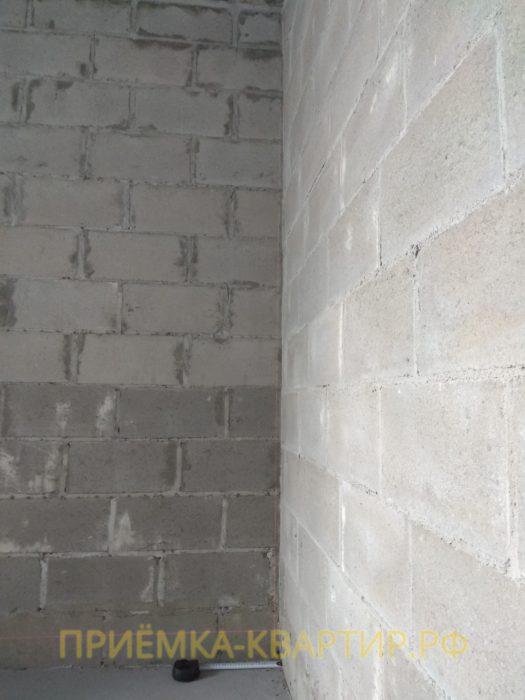Приёмка квартиры в ЖК Капитан Немо: отклонение по вертикали 20 мм