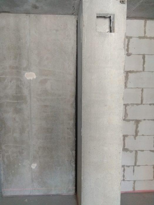 Приёмка квартиры в ЖК Московские ворота: не заделаны монолитные перекрытия