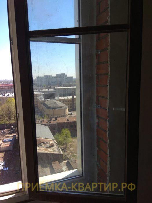 Приёмка квартиры в ЖК Московские ворота: необходима регулировка окон