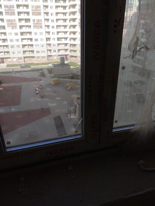 Приёмка квартиры в ЖК Муринский Посад: поврежден стеклопакет