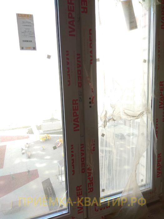 Приёмка квартиры в ЖК Муринский Посад: не закреплена ручка, требуется регулировка окон