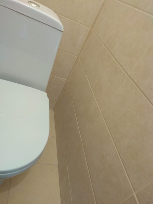 Приёмка квартиры в ЖК Светлановский: не закреплен бачок унитаза, низкое качество укладки плитки