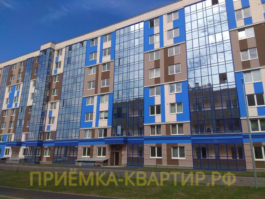 """Отчет о приемке 2 км. квартиры в ЖК """"Ясно.Янино"""""""