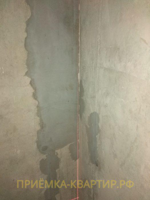 Приёмка квартиры в ЖК Атлант: отклонение по вертикали 25 мм