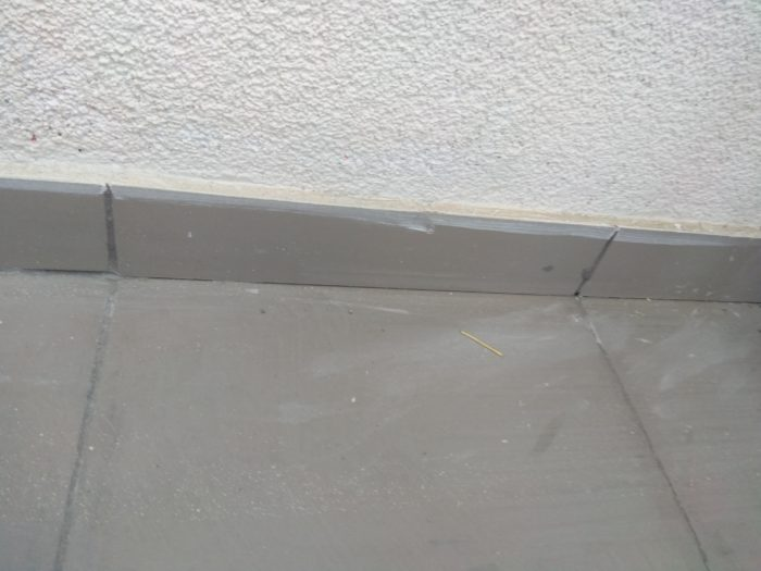 Приёмка квартиры в ЖК Лайф Приморский: не качественно выполнена затирка на плитке