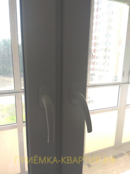 Приёмка квартиры в ЖК Новая Охта: необходима регулировка окон
