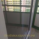 Приёмка квартиры в ЖК Гринландия 2: царапины на стеклопакете