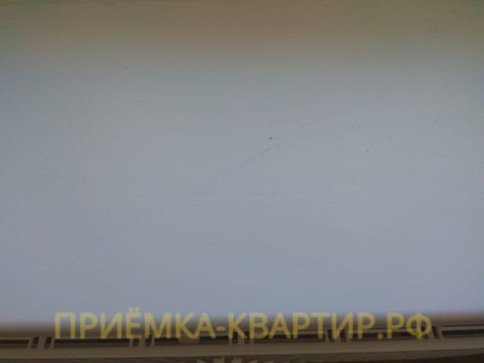 Приёмка квартиры в ЖК Гринландия 2: поцарапан подоконник