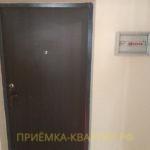 Приёмка квартиры в ЖК Весна 3: отклонение по вертикали входной двери 10 мм