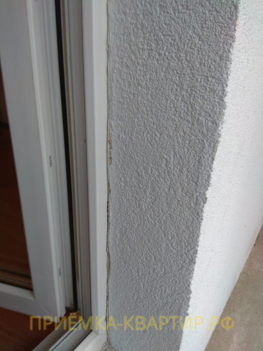 Приёмка квартиры в ЖК Шуваловский: трещина на откосе