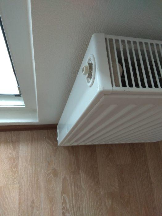 Приёмка квартиры в ЖК Шуваловский: царапины и вмятины на радиаторе