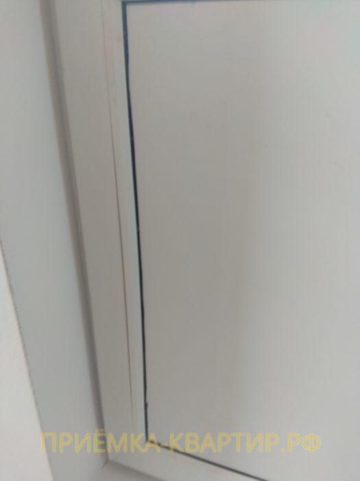Приёмка квартиры в ЖК : повреждена уплотнительная резинка на штапике
