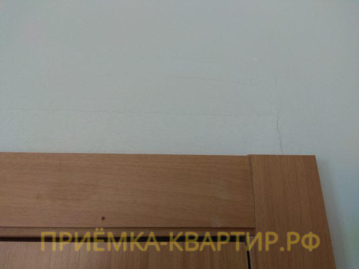Приёмка квартиры в ЖК : трещины на стенах