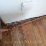 Приёмка квартиры в ЖК Южная Акватория: не закреплен плинтус