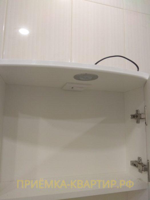 Приёмка квартиры в ЖК Новый Оккервиль: отсутствует напряжение в шкафу в санузле