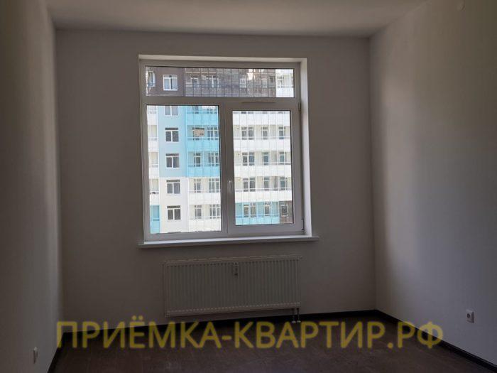 Приёмка квартиры в ЖК Чистое Небо: На наружных стенах под штукатуркой обнаружены пустоты
