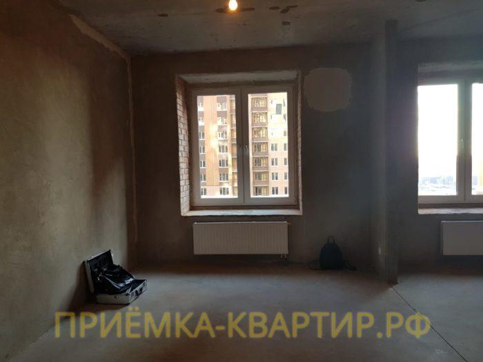 Приёмка квартиры в ЖК Капитал: Перепады по горизонтали по стяжке  свыше 5 мм