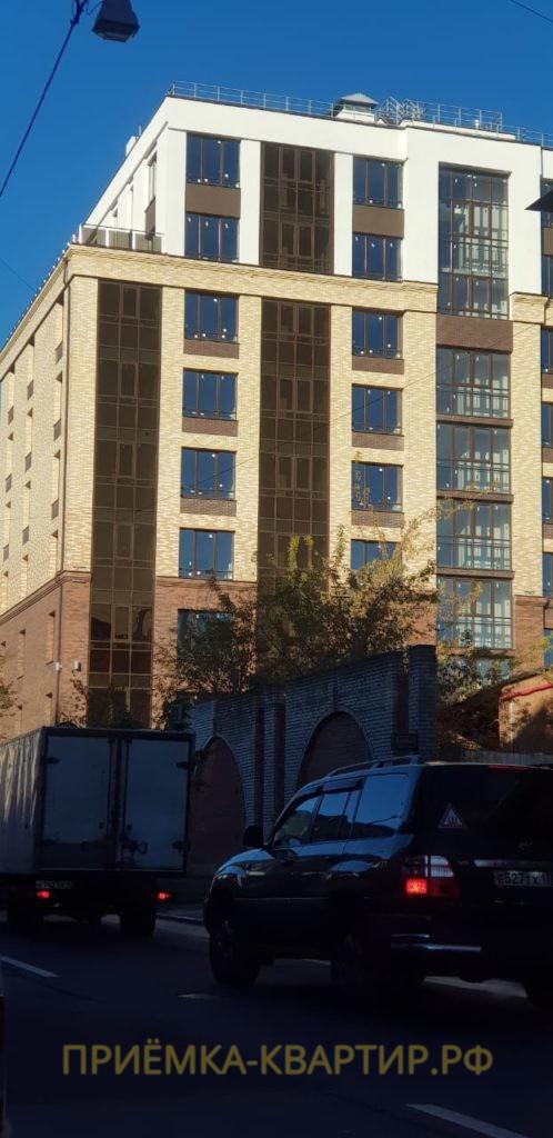 Отчет о приемке 3 км. квартиры ЖК «Look» от 15.10.18