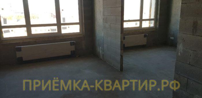 Приёмка квартиры в ЖК Look: Перепад стяжки по горизонтали свыше 5 мм