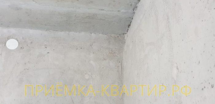 Приёмка квартиры в ЖК Look: Перепад по вертикале свыше 40 мм