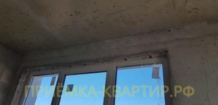 Приёмка квартиры в ЖК Look: Ржавчина на оконных закладных