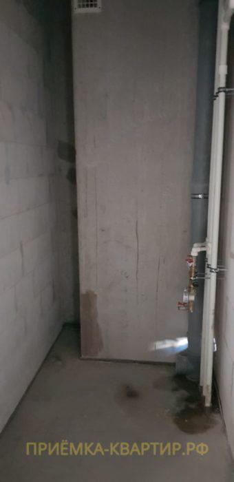 Приёмка квартиры в ЖК Царская Столица: Отклонение стены по вертикали свыше 25 мм