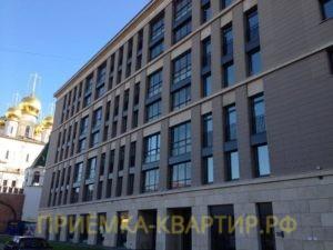 """Отчет о приемке 3 км. квартиры в ЖК """"Царская Столица"""""""