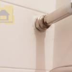 Приёмка квартиры в ЖК Новое Янино: Не затёртые швы на плитке