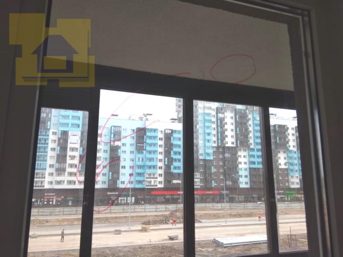 Приёмка квартиры в ЖК Чистое Небо: Царапины по стеклопакету