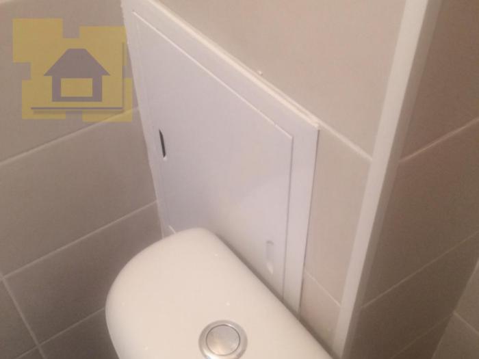Приёмка квартиры в ЖК Весна 3: Бачок унитаза перекрывает доступ к ревизии