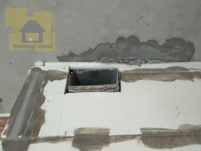 Приёмка квартиры в ЖК Лахта Парк: Коррозия вентканала