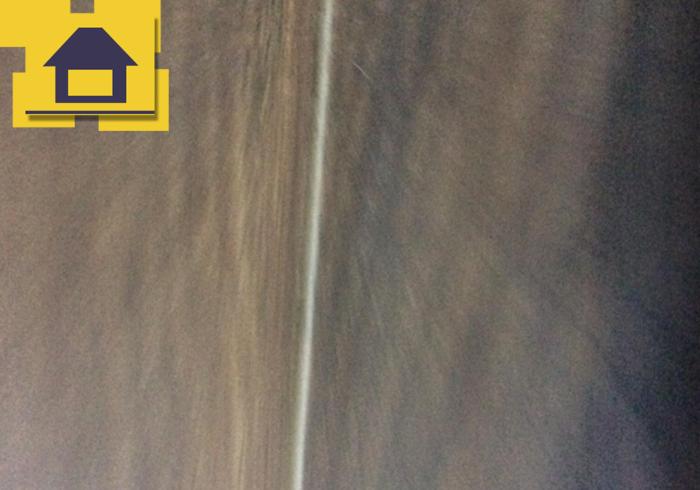 Приёмка квартиры в ЖК Полюстрово Парк: Щель между соседними планками ламината