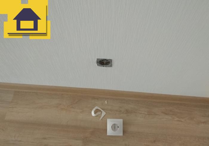 Приёмка квартиры в ЖК Краски Лета: Отсутствует заземление