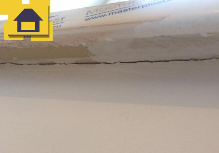 Приёмка квартиры в ЖК Краски Лета: Щель под подоконником