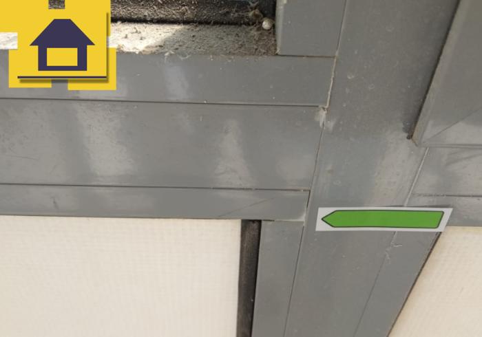 Приёмка квартиры в ЖК Краски Лета: Царапины по профилю фасадного остекления
