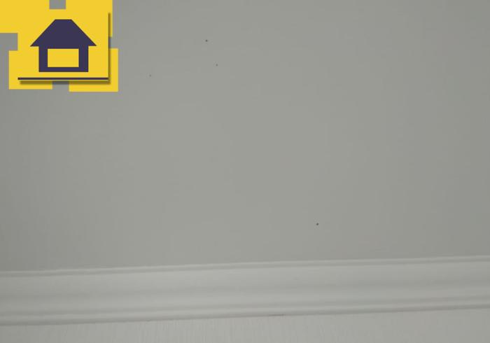 Приёмка квартиры в ЖК Краски Лета: Галтель не прокрашена, пятна на потолке