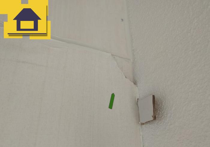 Приёмка квартиры в ЖК Краски Лета: Повреждение СМЛ