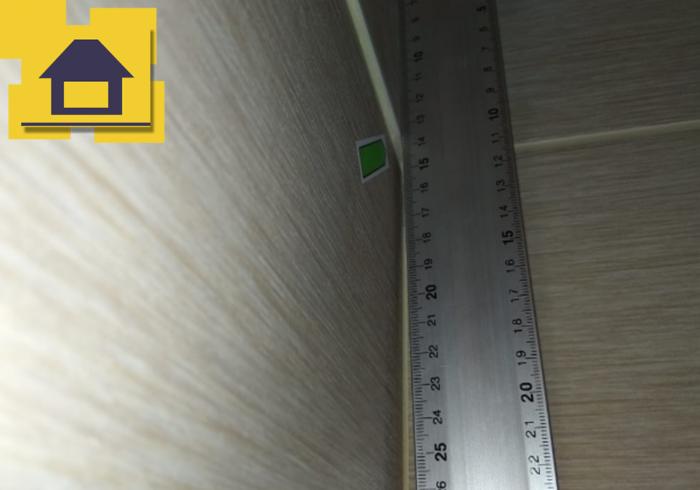 Приёмка квартиры в ЖК Краски Лета: Уступы плитки свыше 4мм