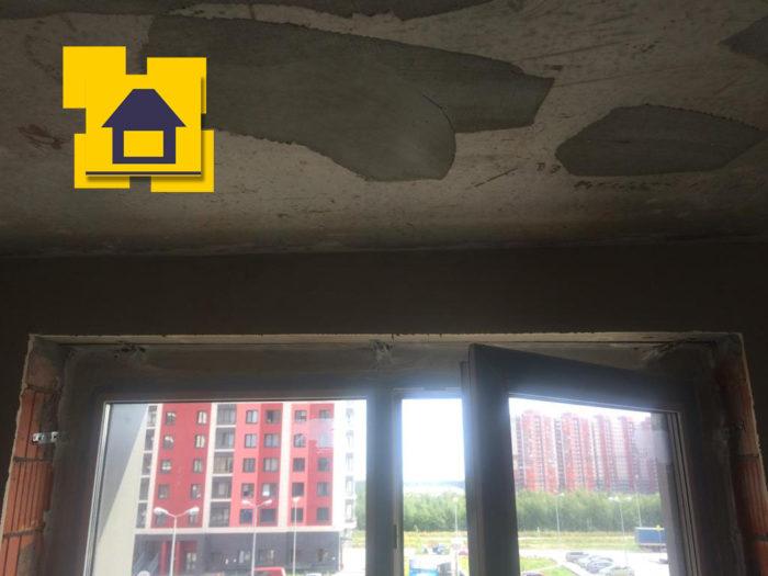 Приёмка квартиры в ЖК Цвета радуги: Отклонение верхнего откоса на 20 мм по горизонтали