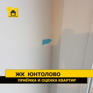 Приёмка квартиры в ЖК Юнтолово: Пустоты под штукатуркой
