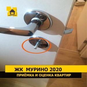 Приёмка квартиры в ЖК Мурино 2020: Замок не закреплён