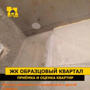 Приёмка квартиры в ЖК Образцовый квартал: Местная неровность